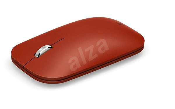 Microsoft Surface Mobile Mouse Bluetooth, Poppy Red - Egér