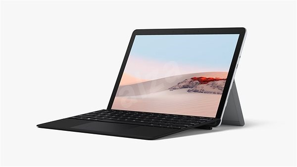 Microsoft Surface Go 2 64GB 4GB + EN/US billentyűzet a csomagban (fekete) - Tablet PC