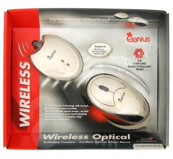 Myš Genius NetScroll OPTICAL Wireless, optická bezdrátová - Mouse