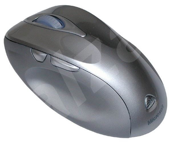 bezdrátová, Myš Microsoft Wireless Laser Mouse 6000 stříbrná (silver), laserová - 1000dpi, USB - Mouse