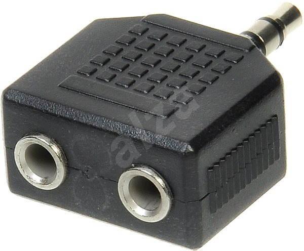 OEM audio 3,5 mm JACK --> 2 X 3,5 mm JACK - Átalakító