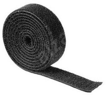Univerzális kábel rendező szalag 1 méter, fekete - Kábelrendező
