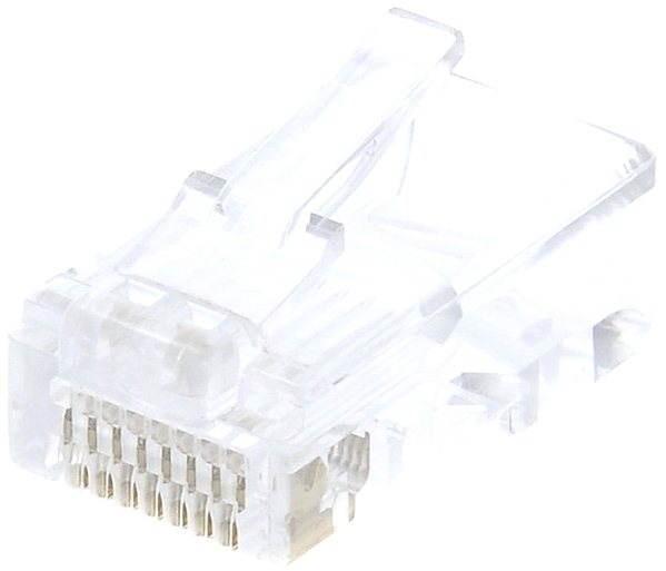 10-es csomag, adatkommunikációs, RJ45, CAT5E UTP 8P8C, az arcon (sodrott) - Csatlakozó