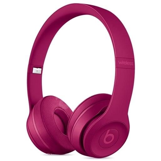 Beats Solo3 Wireless - Brick Red - Vezeték nélküli fül-/fejhallgató
