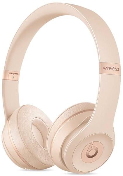 Beats Solo3 Wireless - Matte Gold - Vezeték nélküli fül-/fejhallgató