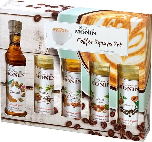 MONIN COFFEE BOX MINI 5 x 0,05 l - Ízesítő keverék