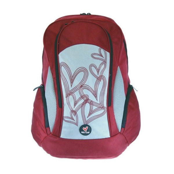 "SWEET YEARS Koala Red - batoh na notebook 15.4"", červený (red) -"
