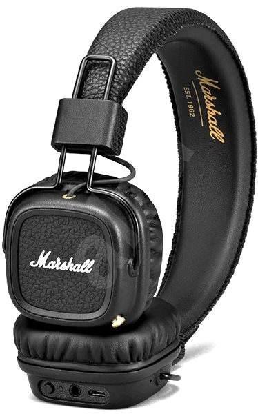 Marshall Major II Bluetooth - fekete - Mikrofonos fej- fülhallgató ... 7f8d4d5e6c