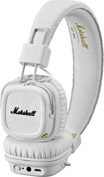 Marshall Major II Bluetooth - fehér - Mikrofonos fej- fülhallgató ... 42e91cf24c