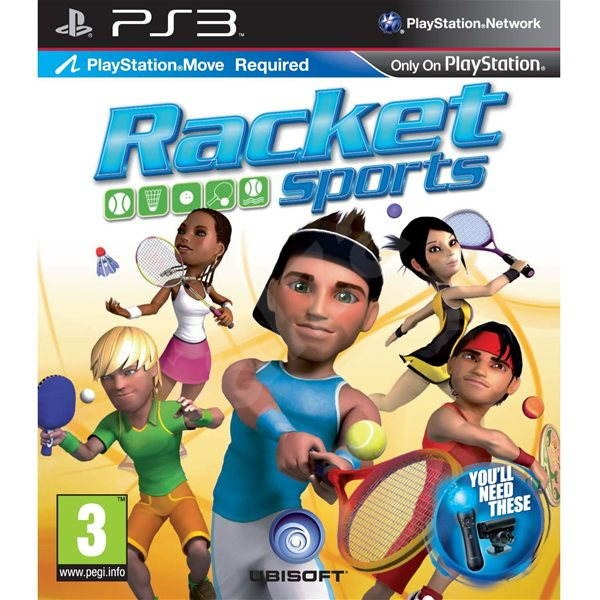 PS3 - Racket Sports - Console Game