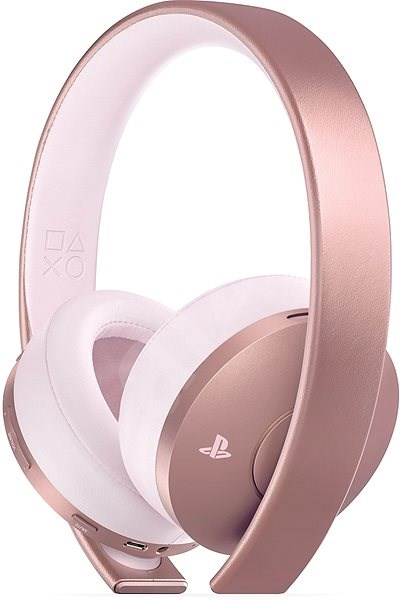 Sony PS4 Gold Wireless Headset Rose - Gamer fejhallgató