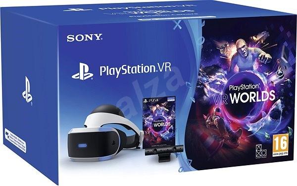 PlayStation VR + PS4 VR Worlds + PS4 Camera - Virtuális valóság szemüveg 6eed138a1c