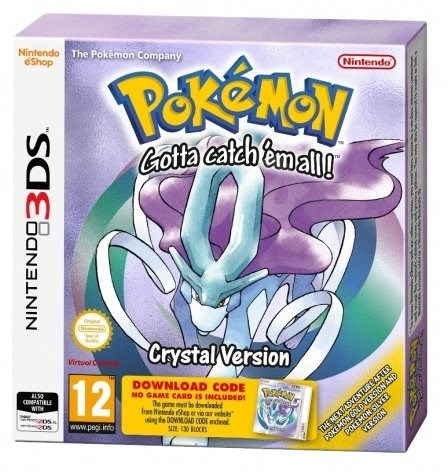 Pokemon Crystal DCC - Nintendo 3DS - Konzoljáték