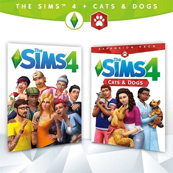 The Sims 4 + The Sims 4: Kutyák és macskák (PC) DIGITAL - PC játék