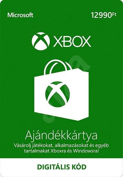 Xbox Live ajándék kártya 12990Ft - Feltöltőkártya