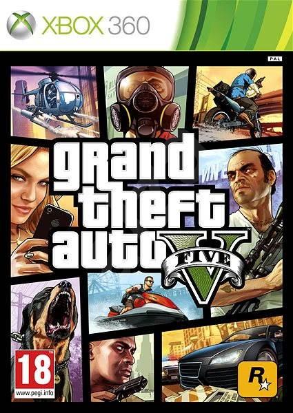 Grand Theft Auto V (GTA 5) -  Xbox 360 - Konzol játék