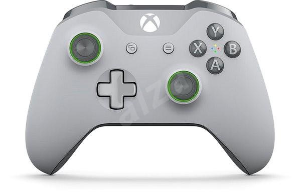 Xbox One Wireless Controller Grey/Green