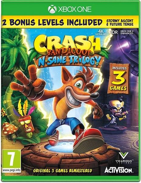 Crash Bandicoot N Sane Trilogy - Xbox One - Konzoljáték