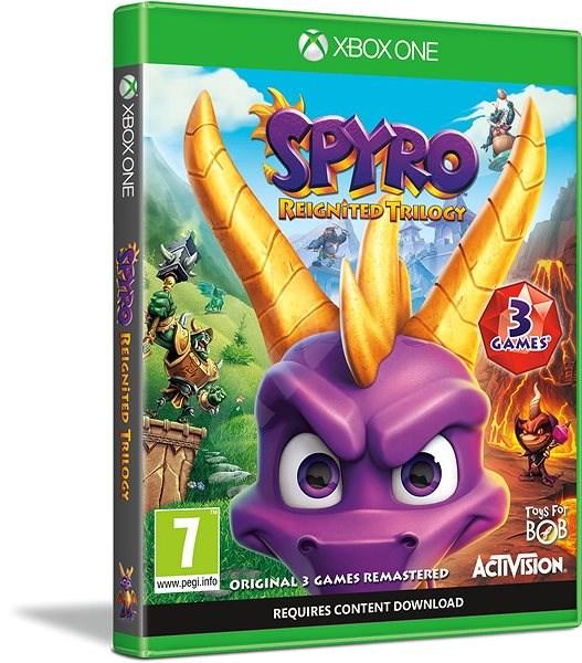 Spyro Reignited Trilogy - Xbox One - Konzol játék