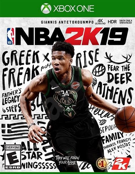 NBA 2K19 - Xbox One - Konzoljáték