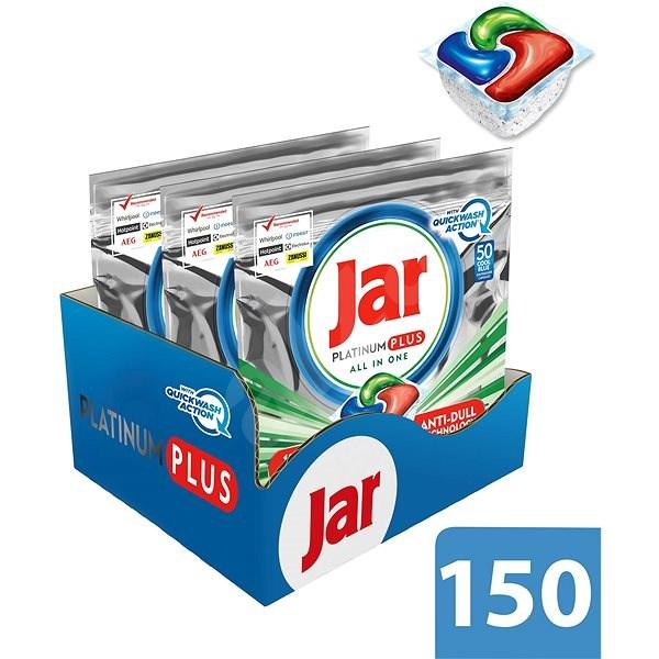 JAR Platinum Plus Quickwash Action 3×50 db - Mosogatógép tabletta