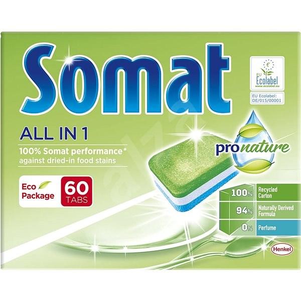 SOMAT All in One Pro Nature 60 db - Öko mosogatógép tabletták
