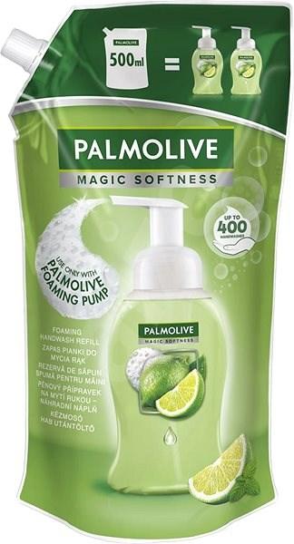 PALMOLIVE Magic Softness Foam Lime&Menta - utántöltő 500 ml - Folyékony szappan