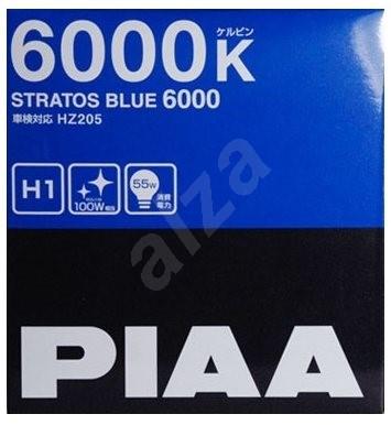 PIAA Stratos Blue Autó izzó 6000K H1 - hideg fehér fény xenon hatással - Autóizzó
