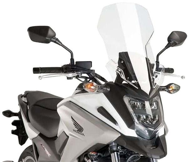 PUIG TOURING átlátszó, HONDA NC 750 X (2016-2019) modellekhez - Motorkerékpár plexi-szélvédő