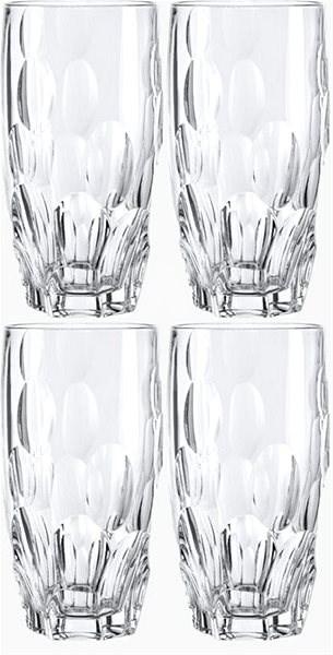 Nachtmann SPHERE 385 ml-es, 4 db-os Long Drink pohárkészlet - Pohárkészlet
