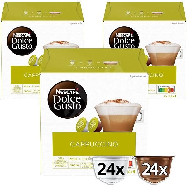 Nescafé Dolce Gusto Cappuccino 16 x 3db - Kávékapszula