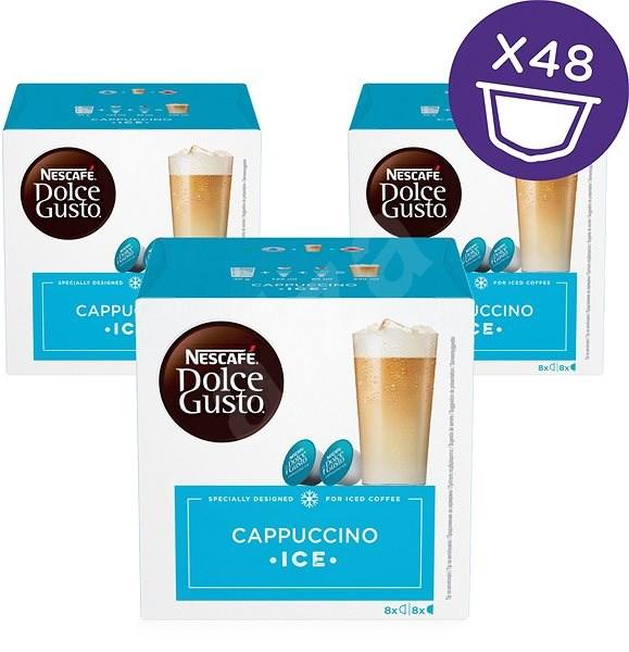 NESCAFÉ® Dolce Gusto® Cappuccino, 3 Pack Coffee Capsules