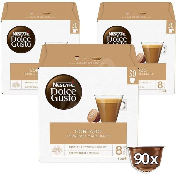 Nescafé Dolce Gusto Cortado Espresso Macchiato 3 x 30 db - Kávékapszulák