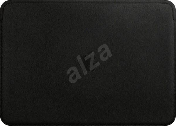 "Leather Sleeve MacBook Pro 13"" Black - Laptop tok"