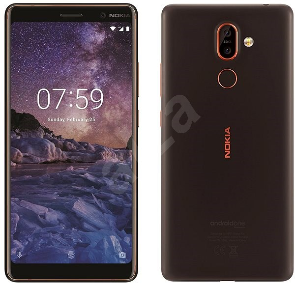 Nokia 7 Plus Black - Mobiltelefon