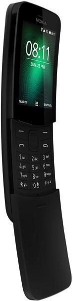 Nokia 8110 4G Black Dual SIM - Mobiltelefon
