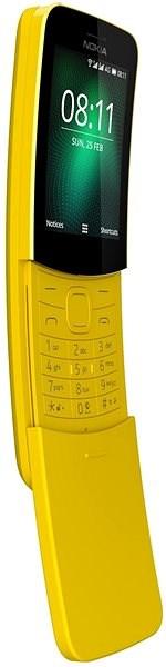 Nokia 8110 4G Yellow Dual SIM - Mobiltelefon