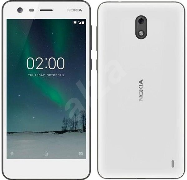 Nokia 2 Single SIM fehér - Mobiltelefon
