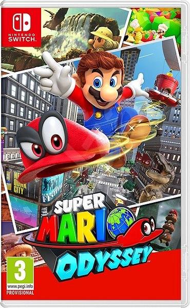 Super Mario Odyssey - Nintendo Switch - Konzoljáték