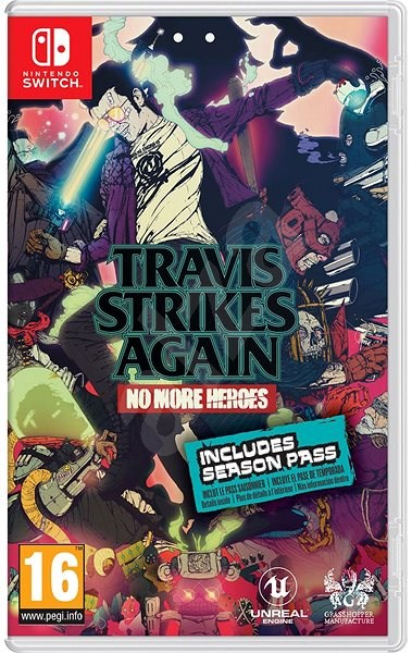 Travis Strikes Again: No More Heroes - Nintendo Switch - Konzoljáték