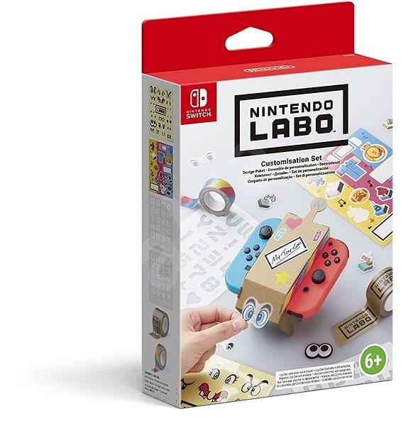 Nintendo Labo - Testreszabási készlet - Kreatív készlet