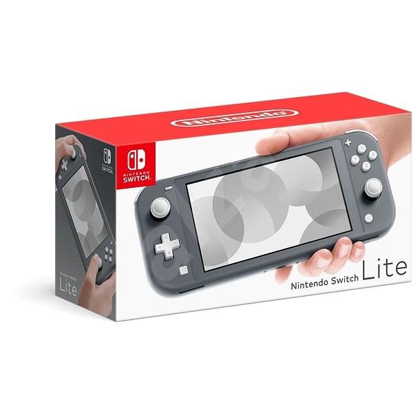 Nintendo Switch Lite, szürke - Játékkonzol