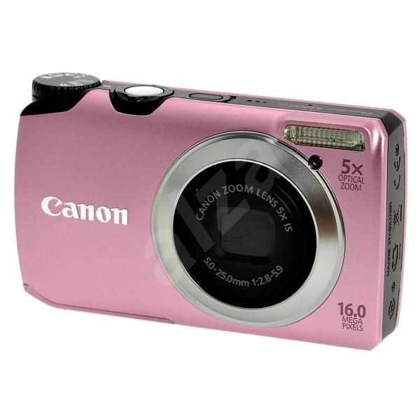 Canon PowerShot A3300 IS růžový - Digital Camera