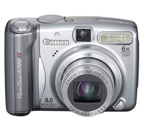 Digitální fotoaparát Canon PowerShot A720 IS - Digital Camera
