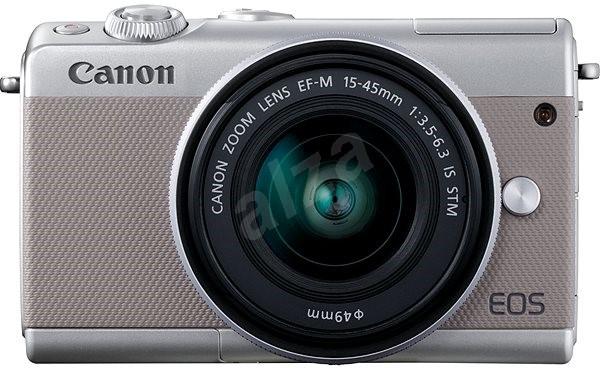 7acb3e04ab Canon EOS M100 szürke + M15-45mm ezüst - Digitális fényképezőgép ...