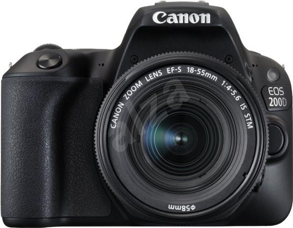 f2d8bad4ad Canon EOS 200D fekete + 18-55mm IS STM - Digitális tükörreflexes  fényképezőgép