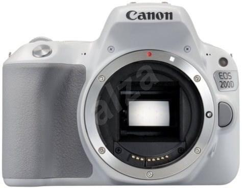 Canon EOS 200D fehér - Digitális fényképezőgép
