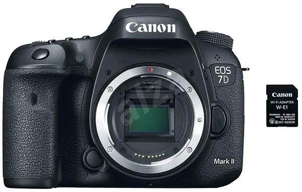 Canon EOS 7D Mark II váz + W-E1 adapter - Digitális fényképezőgép