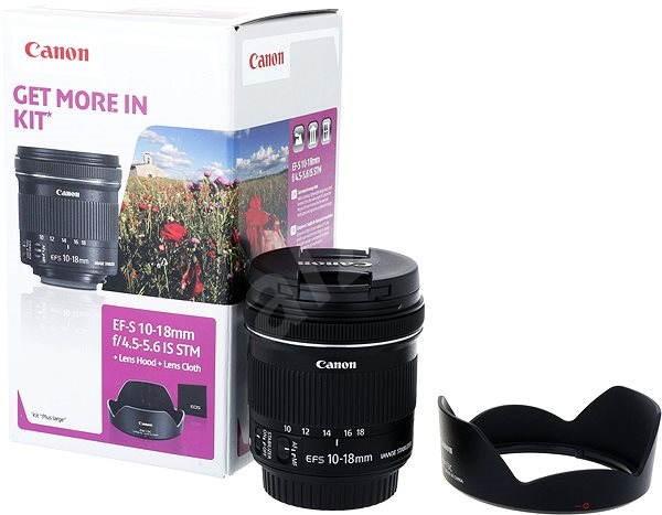 Canon EF-S 10-18mm F4.5 - 5.6 IS STM + EW-73C - Objektív