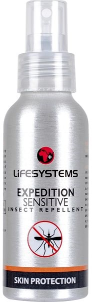 LIFESYSTEMS Expedition Sensitive 100 ml - Rovarriasztó